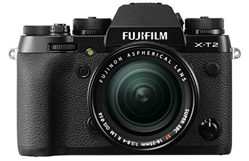Fujifilm X-T2 - Cámara sin espejos de 24.3 Mpx